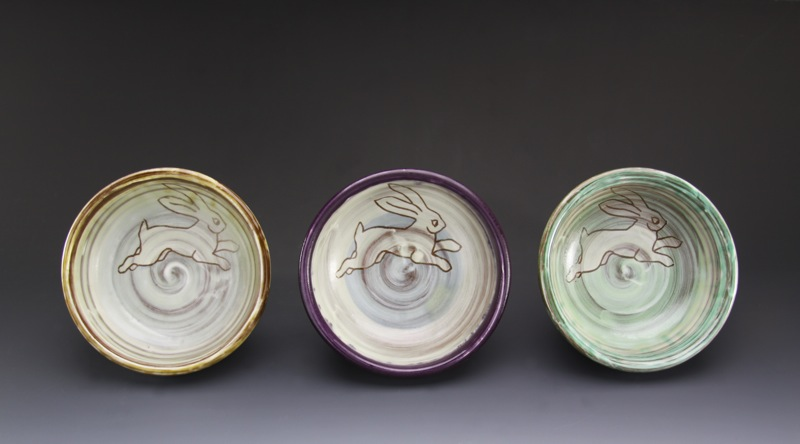 earthenware single serving bowls