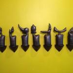 7 Specters - sculpture