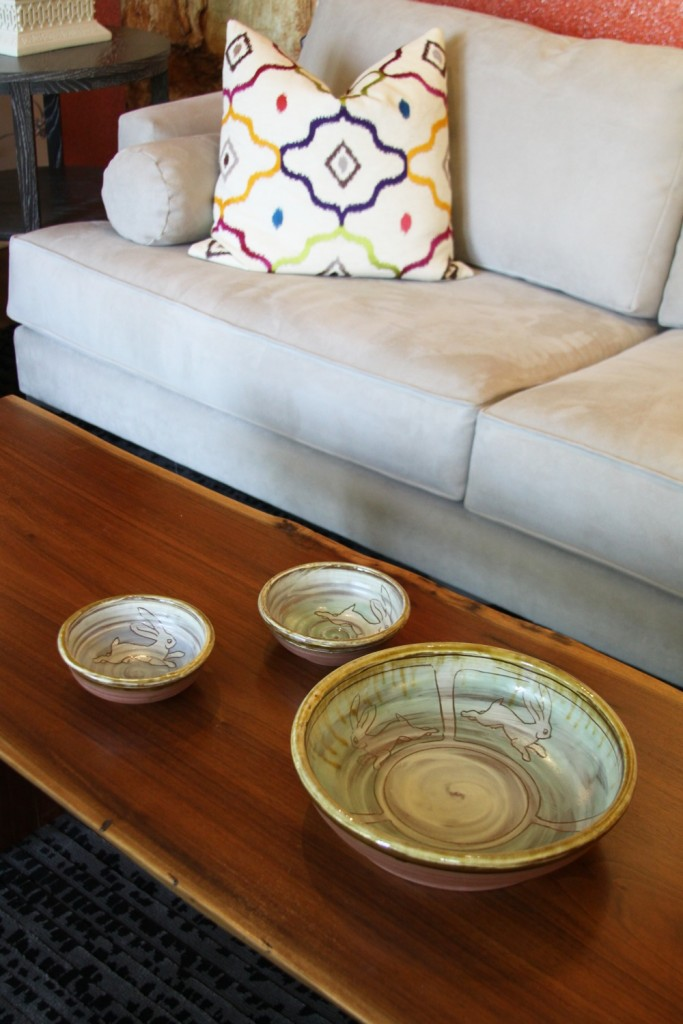 earthenware wheelthrown bowls